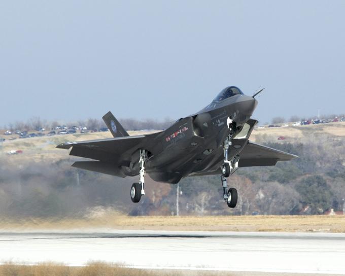 F-35 - самолет-полуфабрикат