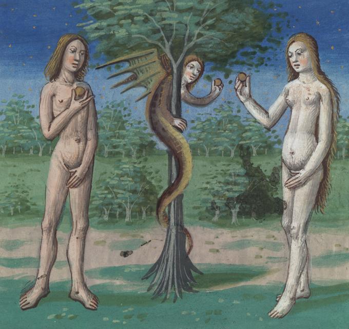 """""""Роковые женщины"""" губят мужчин веками. Адам и Ева"""
