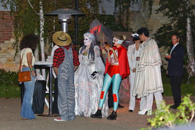 На вечеринке у Кейт Хадсон в честь Хеллоуина