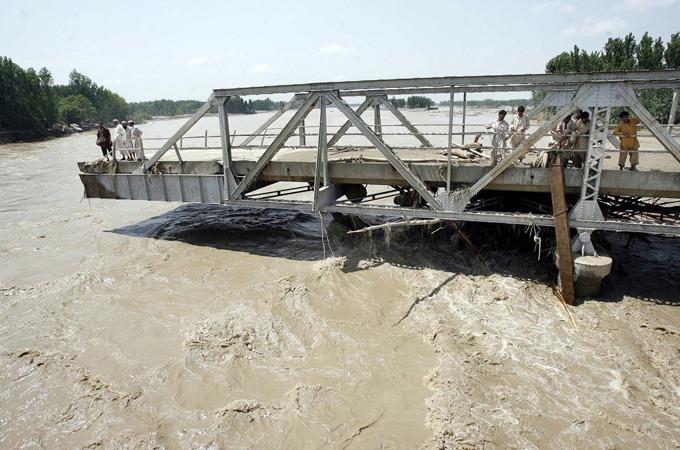 Катастрофы 2010: наводнение в Пакистане