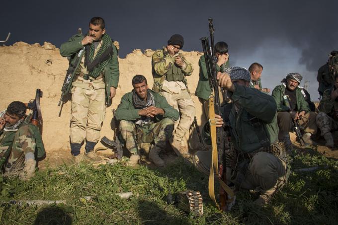 Армия курдов: Их мало, но они потомки Саладина. 200 тысяч воинов