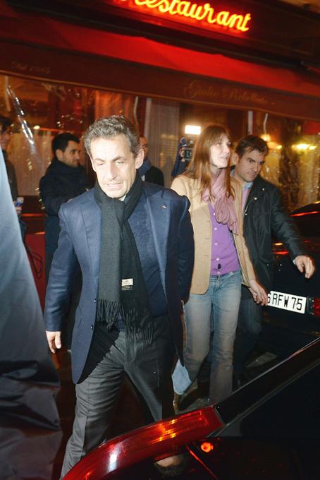 Николя Саркози в кругу семьи