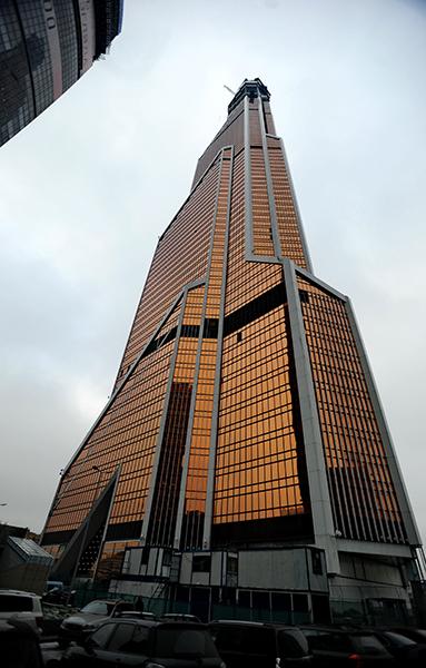 """Небоскреб """"Меркурий Сити"""" — самое высокое здание Европы"""