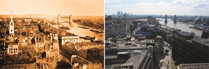 Как менялся Лондон