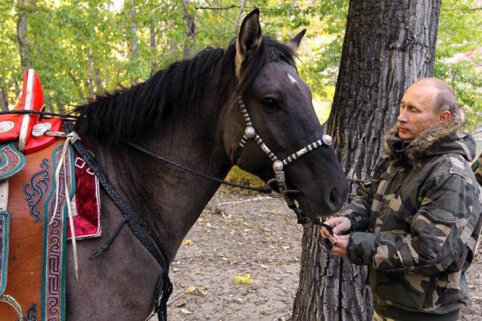 Президент России — большой друг животных