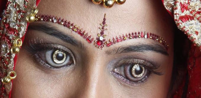 Бриллиантовые украшения для глаз