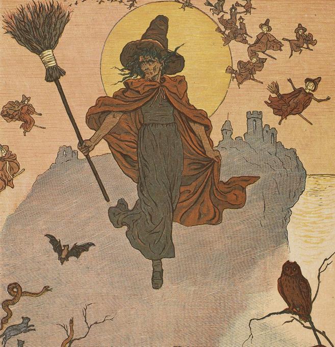 Как вычислить настоящую ведьму?
