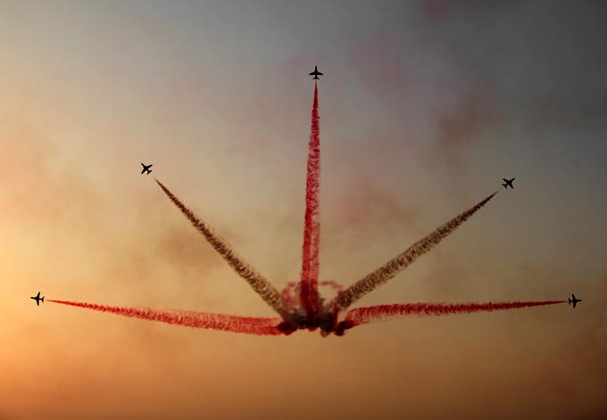 """Повелители неба в """"Бахрейн Эйр Шоу"""""""