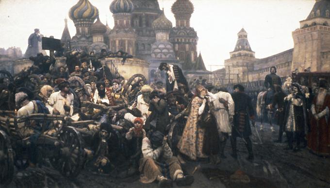 Russian village, 1889 by vasily polenov (order fine art painting copy vasily polenov)