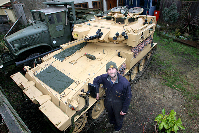 Коллекционер танков
