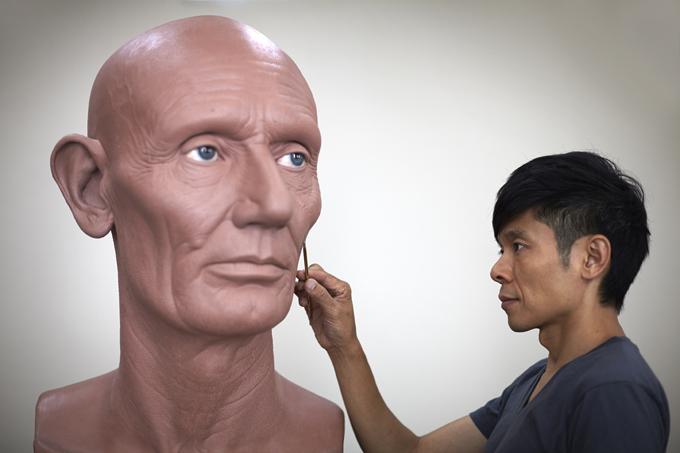 3D-скульптуры знаменитостей от лучшего гримера мира: Казухиро Цудзи