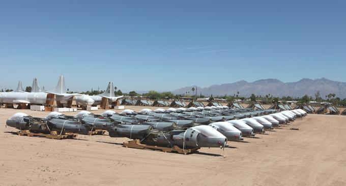 фото кладбище самолетов