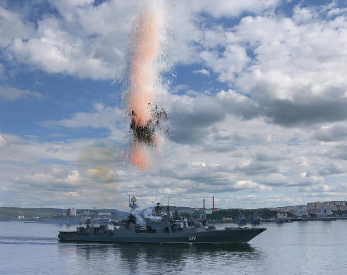 Профессиональный праздник морских героев. Североморск