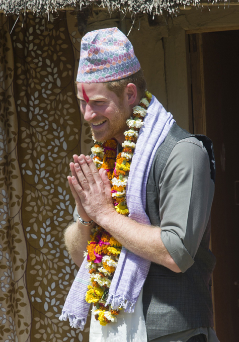 Приключения принца Гарри в Непале
