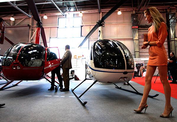 """Международная выставка вертолетной индустрии """"Helirussia-2013"""""""