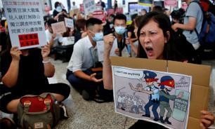 Аэропорт Гонконга отменил все вылеты из-за протестов
