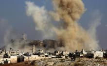 В районе Дейр-эз-Зора разгромлен конвой военных