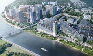 Жилой квартал в форме бегущей волны построят на берегу Москвы-реки