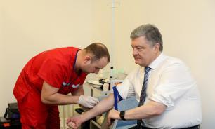 В крови Порошенко не обнаружили алкоголя
