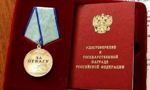 """Пермскую учительницу наградят боевой медалью """"За отвагу"""""""