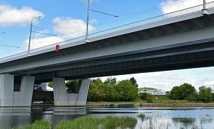 На дублере Остафьевского шоссе построили 200-метровый мост