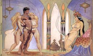 Эротические картинки в замке св. Ангела в Риме