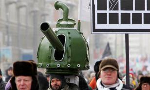 Открытка оппозиции: 86% россиян против любых протестов