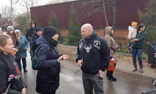 Боец ММА Джефф Монсон заступился за дольщиков Подмосковья