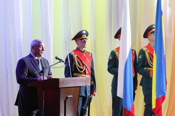 Василий Голубев поздравил Ростов-на-Дону с 270-летием