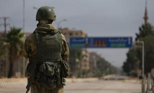 Сотрудники российской военной полиции нашли в Сирии танк-схрон
