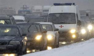 На Байкале ушел под лед автомобиль с людьми: есть погибшие