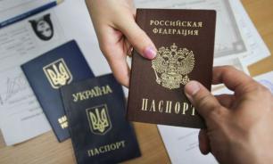 Украинский министр призвала лишить соцвыплат получивших паспорт России