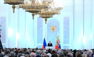 """Песков рассказал об """"особенном"""" послании президента Федеральному собранию"""