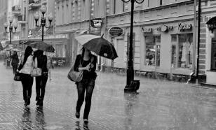 В Москве прошел сильный дождь с градом