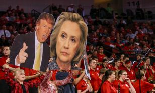 Опрос американцев показал: Трамп уверенно догоняет Клинтон