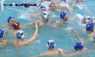 Российских ватерполистов сурово накажут за драку в бассейне