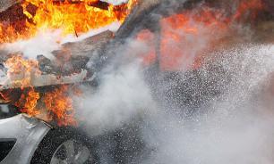 В Москве задержан серийный пироман, сжигавший автомобили