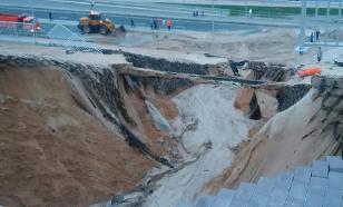 Слава Богу, туристы уехали: стадионы ЧМ-2018 начало смывать