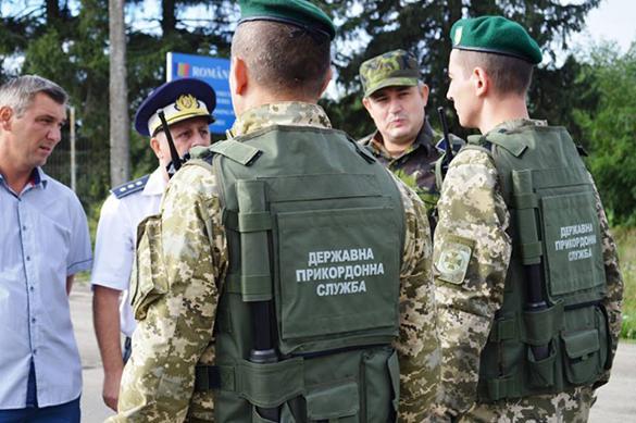Киев начинает обустраивать границу с Донбассом