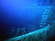Нептун починил взорванный парусник