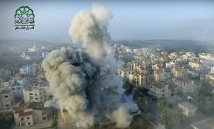 В Алеппо террористы при обстреле применили отравляющий газ