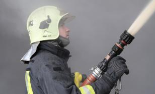 Пожар в доме в Красноярском крае разгорелся при 45 градусном морозе : один погибший, 32 эвакуировано