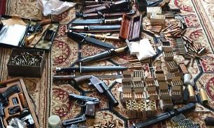 ФСБ нашла 10 нелегальных мастерских по производству оружия в Курске