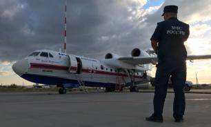 Тушивший пожары в Якутии самолет Бе-200 сломался в первый день