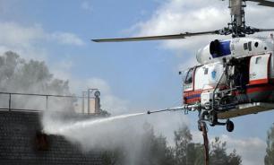 Десятая часть населенных пунктов в России находится вне зон прикрытия пожарной охраны