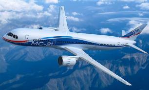 """Россия показала """"убийцу"""" Boeing и Airbus - самолет МС-21"""