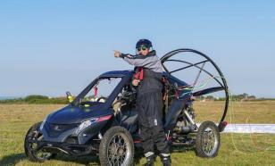 Французский летчик пересек Ла-Манш на летающем автомобиле
