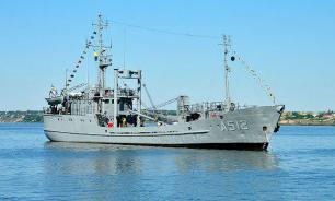 Разведывательное судно Украины зашло в зону учений российского флота