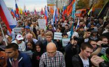 """Российская либеральная оппозиция прокляла """"предателя"""" Трампа"""