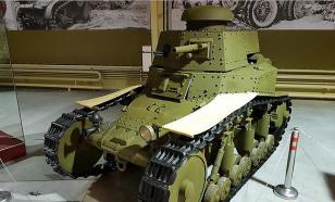 Как в Красной армии появился первый советский танк